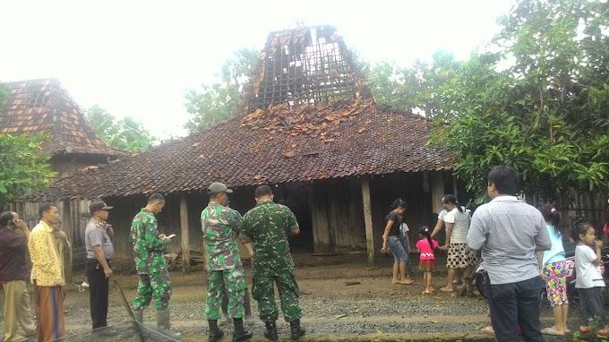 Koramil 18 Winong Turun Tangan Langsung di Desa Kudur