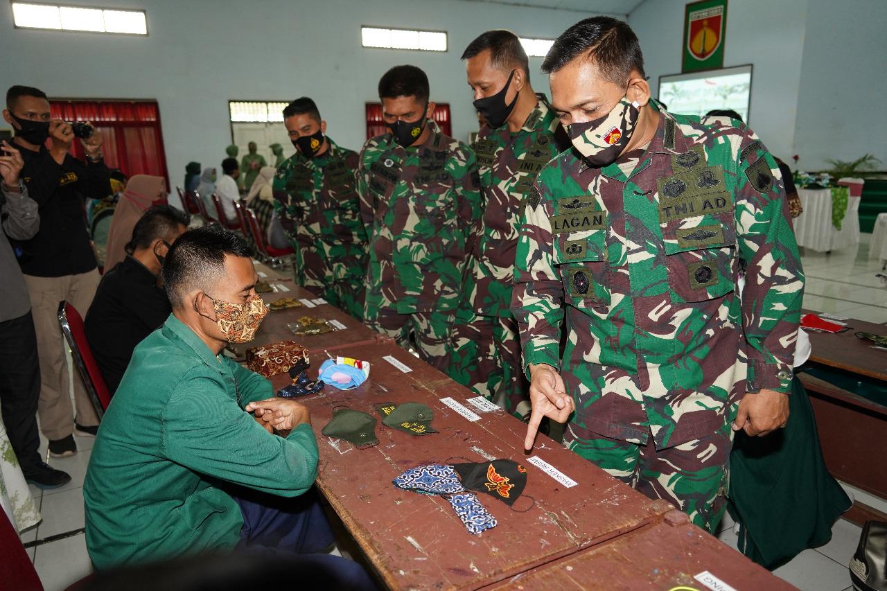 Dukung Kebijakan Pemerintah Terkait Protokol Kesehatan, Korem 071/Wijayakusuma Gelar Lomba Desain Masker