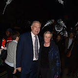 OIC - ENTSIMAGES.COM - Sir Trevor Brooking and Wife Hikka at  the Defender 2,000,000 - VIP auction, as two-millionth Series Land Rover and Defender is star attraction at auction hosted by Land Rover in aid of Red Cross and the Born Free Foundation, London 16th December 2015 Photo Mobis Photos/OIC 0203 174 1069