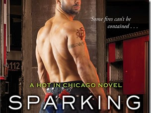 Spotlight: Sparking the Fire (Hot in Chicago #3) by Kate Meader + Two Giveaways