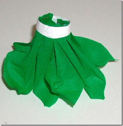 papel pinocho disfraz lechuga