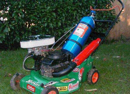 Craigslist funny!! (racing push mower???) - Dodge Ram ...