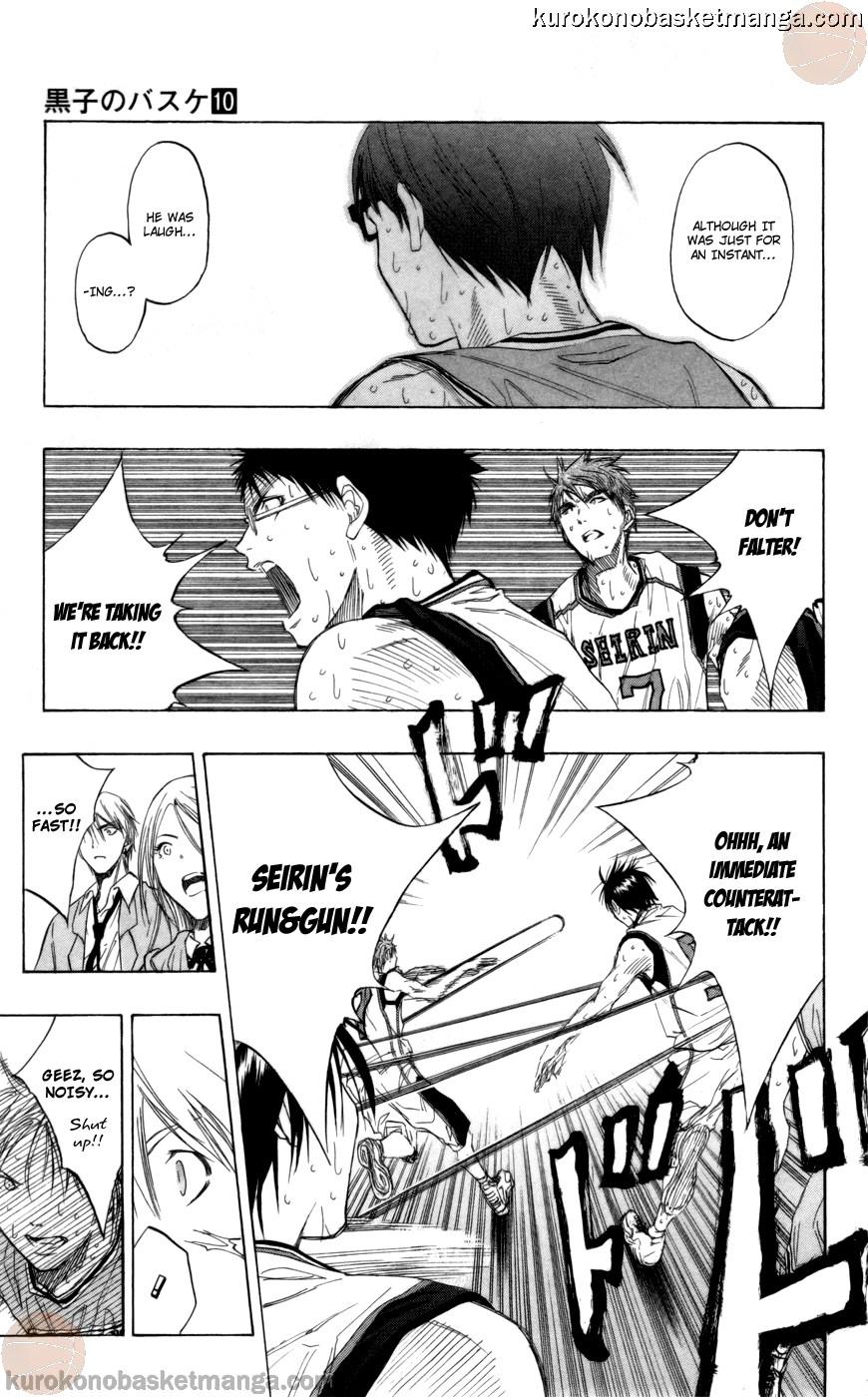 Kuroko no Basket Manga Chapter 89 - Image 09