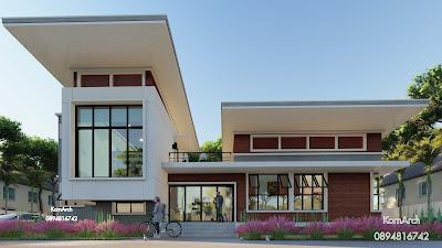 รับออกแบบบ้าน2ชั้นเล่นระดับ  เจ้าของอาคารคุณดวงฤดี พันธ์เกียรติ  สถานที่ก่อสร้างอำเภอสังขะ จังหวัดสุรินทร์