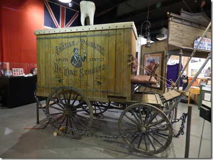 Surgeon Dentist Wagon, Museum of Western Film History, Lone Pine CA