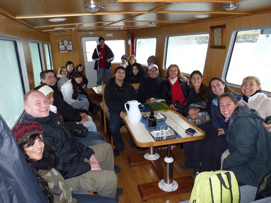 Excursiónpor Canal de Beagle