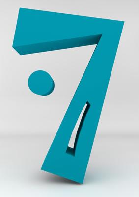 lettre 3D homme joker turquoise - 7 - images libres de droit