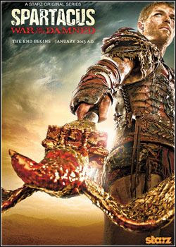 Spartacus: War of The Damned 3ª Temporada AVI + RMVB Legendado
