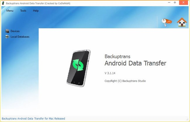backuptrans whatsapp crack for android