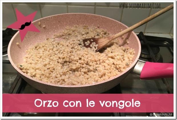 ricetta orzo con le vongole2