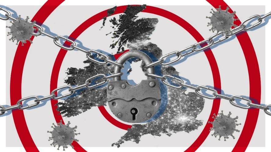 COVID-19: The World in Lockdown