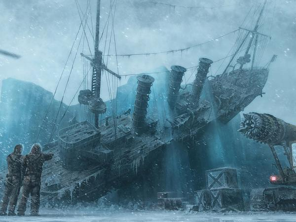 Ship In Snow, Magick Lands 3