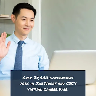 JobStreet and Civil Service Commission's Virtual Career Fair
