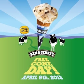 Ben & Jerry's Free Cone Day 2013