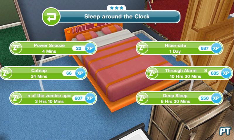 sims freeplay deep sleep