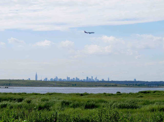 A view of Manhattan from Jamaica Bay. Gateway National Recreation Area. Lassoing the Sun: A Year in America's National Parks