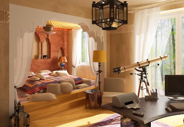 Modern Moroccan Themed Inspired Bedroom Ideas
