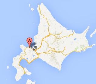 北の誉酒造 酒泉館・地図