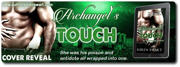 Cover Reveal: Archangel's Touch by Karen Swart (@karenswart1)