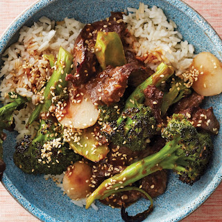 Broiled Beef and Broccoli Stir-Fry With Water Chestnuts