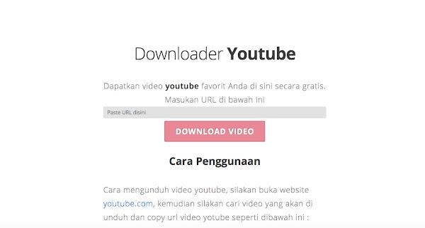 Download Aplikasi Youtube Downloader