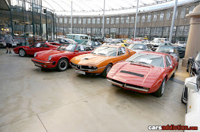 1989 PORSCHE 911 SPEEDSTER and 1973 ALFA ROMEO MONTREAL and 1975 MASERATI MERAK SS 3.0