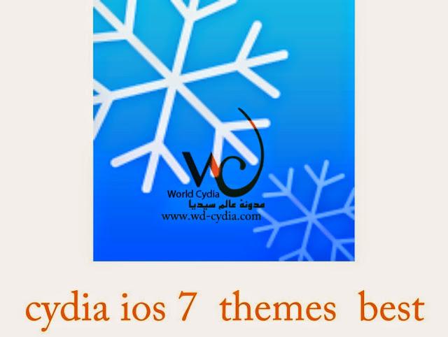 best theme cydia  ios8