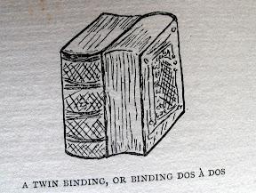 Encuadernación dos-á-dos.