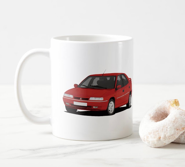 Citroën Xantia coffee mug
