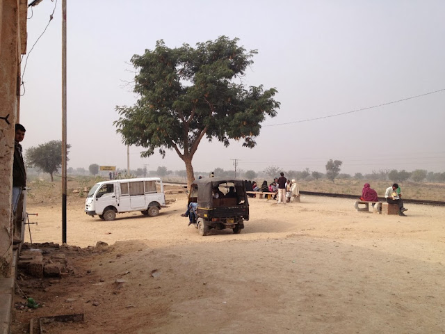 Mahansar Rail Station, Shekhawati