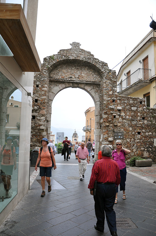 Городские ворота в Таормине
