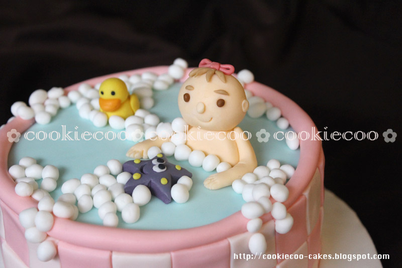 Cookiecoo Baby Onemonth Cake For Alexa