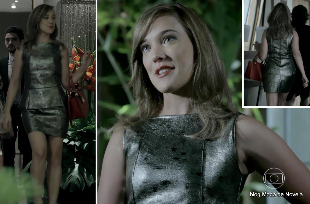 moda da novela Império, look da Amanda dia 6 de novembro