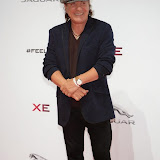 WWW.ENTSIMAGES.COM -   Brian Johnson   arriving     at       Jaguar XE - World premiere and  Global launch party at Earls Court Exhibition Centre, London September 8th 2014Jaguar premieres its new Jaguar XE car to press and VIPs                                               Photo Mobis Photos/OIC 0203 174 1069