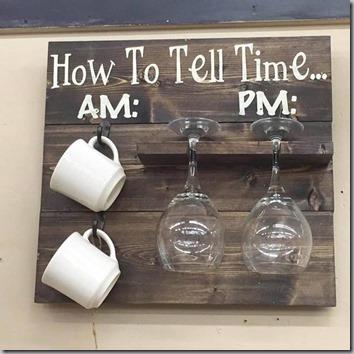Seniors clock