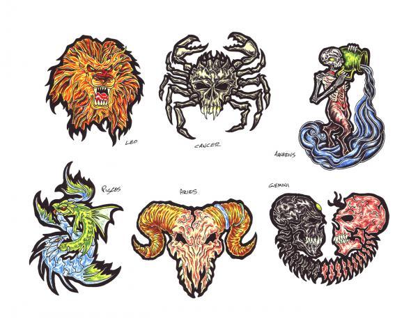 Silent Tattoo Design 9, Fantasy Tattoo Designs