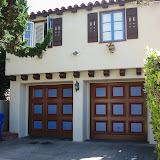 3 color garage doors