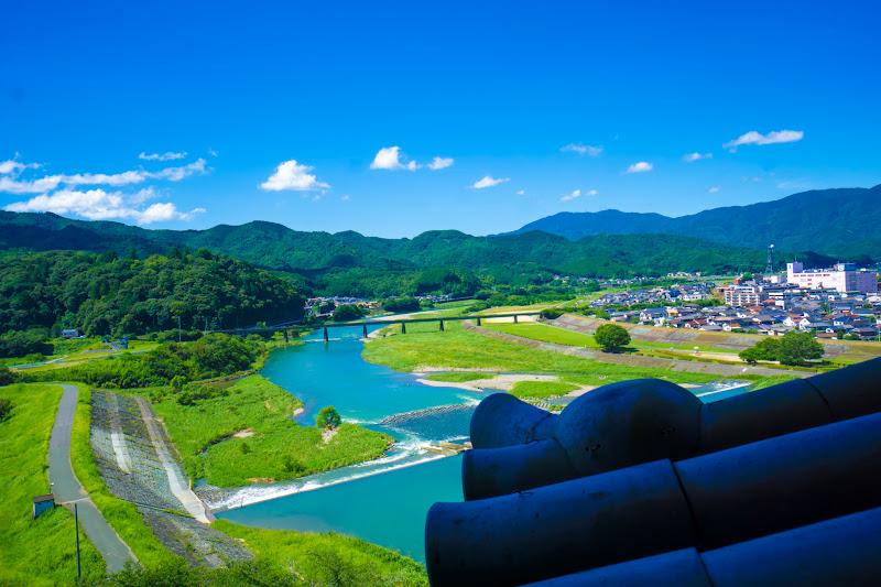 大洲城 肱川 3