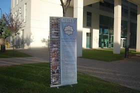 Jaimas del Centro Cultural Islámico de Valencia (CCIV) en el Campus Tatonjers. Universitat de Valencia. 2012