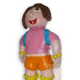 32. kép: Formatorták (lányoknak) - Kislány baba torta