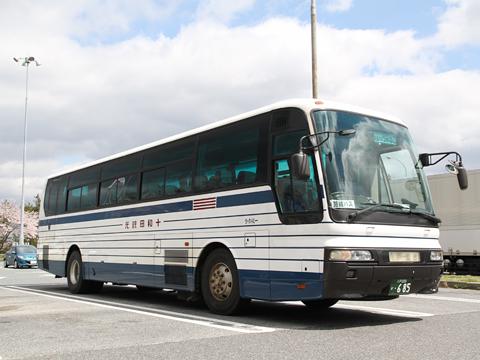 十和田観光電鉄「うみねこ号」 ・685 前沢SAにて