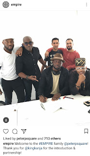 Peter Okoye Welcome to the EMPIRE family