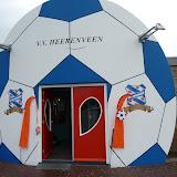 Voetbalfeest, club gebouw, VV Heerenveen
