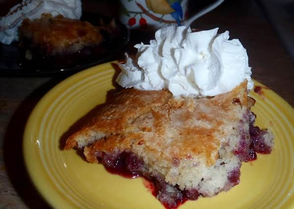 Blueberry Pudding Cake Recipe