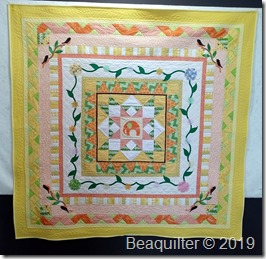 elephant round robin quilt