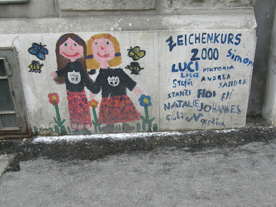 Austria, Ausztria, Bécs, falfirka, graffiti, stencil, Vienna, vizuális környezetszennyezés, Wien, Österreich,