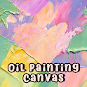 Beautiful Wallpaper Oil Painting Canvas Theme icon