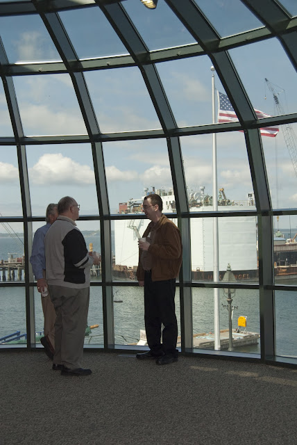 Inside the Bellingham Cruise Terminal in Fairhaven / Credit: Bellingham Whatcom County Tourism