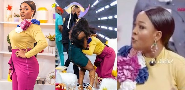 BBNaija Reunion 2021: I Don't Have Patience For Rubbish'— Lucy Says After Slapping Kaisha [Video]