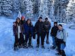 Snowshoeing White Pine - 4